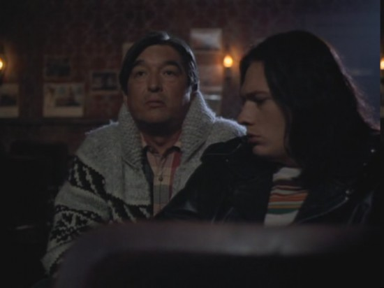 From the series Northern Exposure, Leonard giving advice to Ed