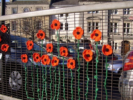 Urban Knitting - Poppies