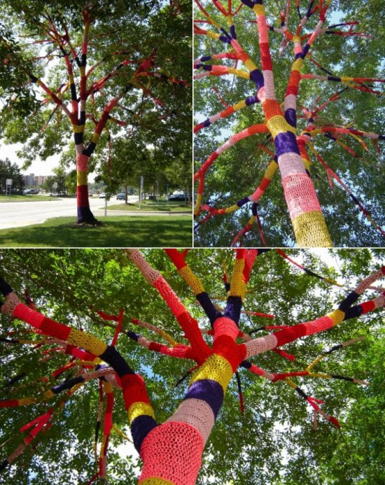 Urban Knitting - Tree