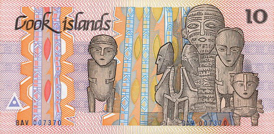 Cook Islands 10 Dollars