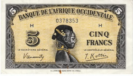 French West-African Franc