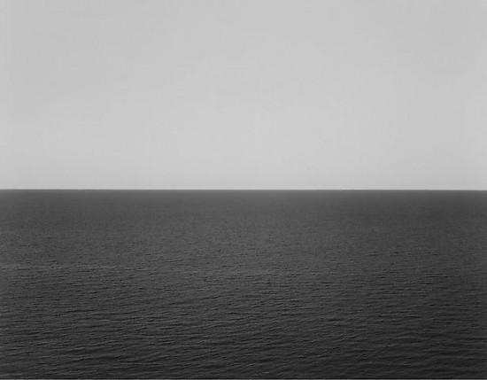 Hiroshi Sugimoto, Sea of Japan, Rebun Island, 1996 - Gelatin silver print